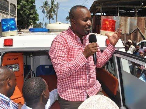 Governor Hassan Joho leads anti-IEBC demos in Mombasa