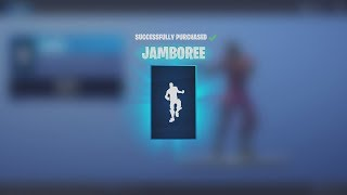 Spending 500 V-Bucks NEW Rare Dance Emote 'JAMBOREE' (Fortnite)