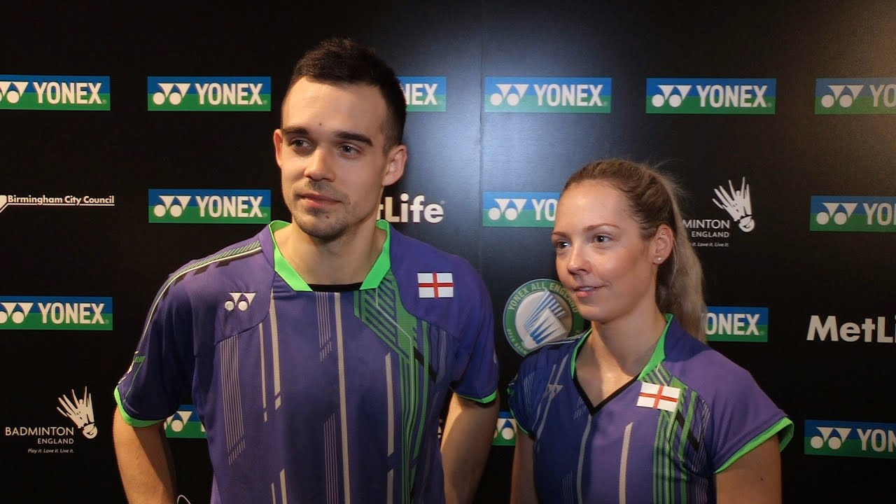 Chris & Gabby Adcock on opening All England win