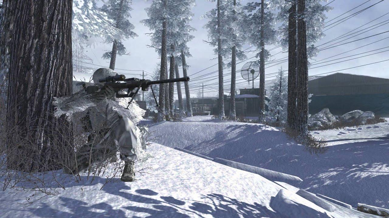 Modern warfare 2 sniper dreamscene video wallpaper youtube - Call of duty warfare wallpaper ...