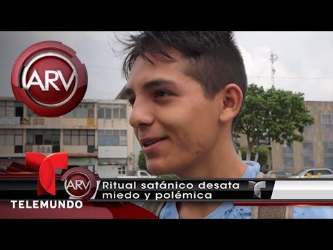 Joven en México asegura que le vendió su alma al diablo | Al Rojo Vivo | Telemundo