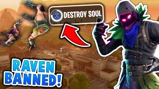 The RAVEN SKIN is AMAZING in Fortnite Battle Royale!