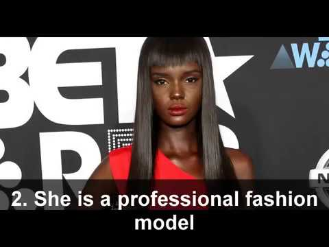 5 Facts about South Sudanese-Australian Fashion model Nyadak Duckie Thot