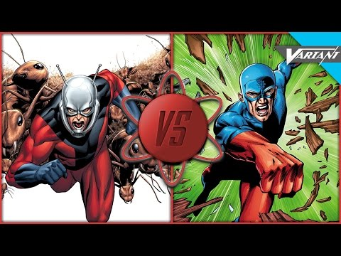 Ant-Man VS Atom: Who Wins?