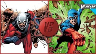 Ant-Man VS Atom: Who Wins?
