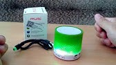 wireless mini speaker LED light bluetooth speaker with super