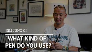 Kim Jung Gi - Wнat Kind of Pen Do You Use?