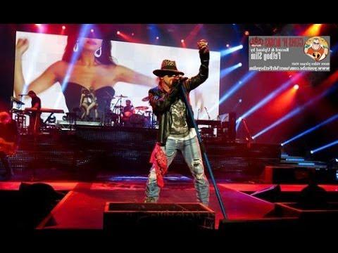 Guns N' Roses GNR - Rocket Queen Live In Jakarta Indonesia 2012