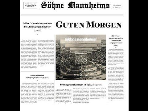 Söhne Mannheims Guten Morgen Neuer Song Musik News