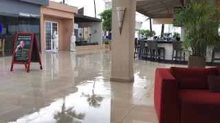 Regenachtige ochtend in Tamarijn Aruba All Inclusive