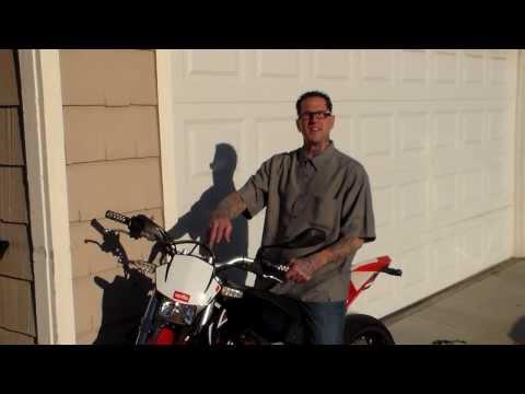OMS on my Aprilia RXV 4.5 super moto .  .  .
