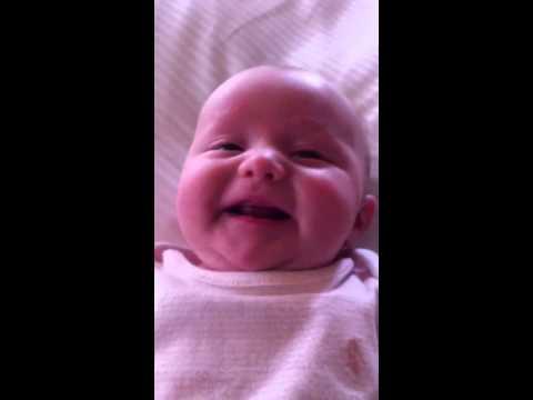 Elle smiling.
