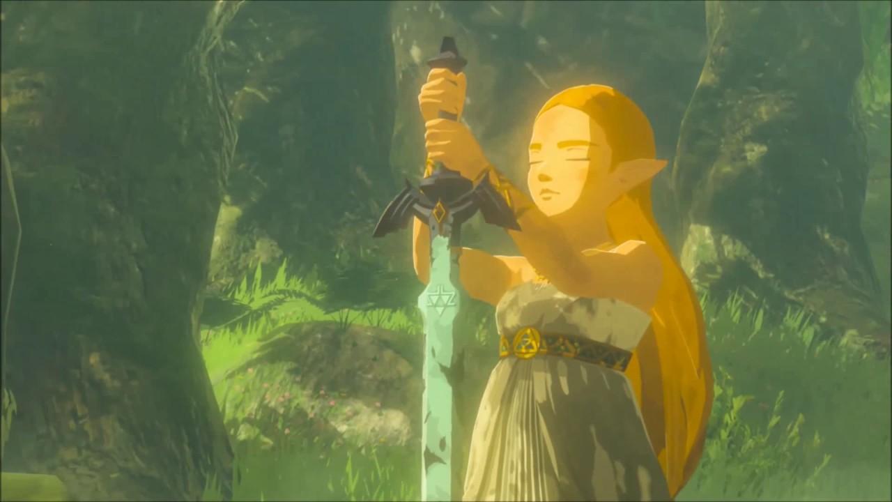 Zelda BotW - Zelda Master Sword Live Wallpaper - YouTube