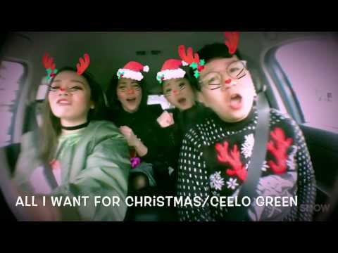Christmas carpool karaoke🎅🏼🎤