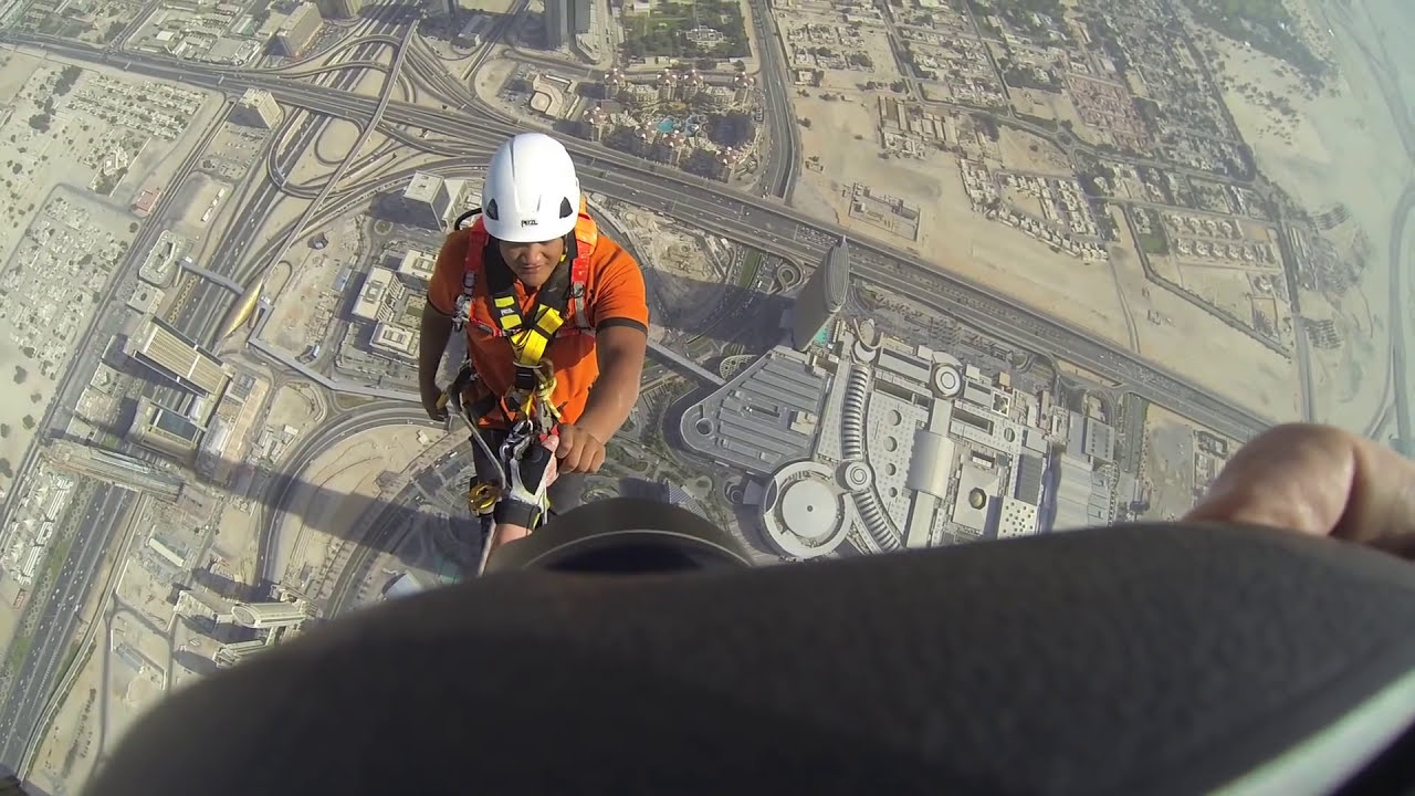 Joe Mcnally Photography Climbing The Burj Khalifa The