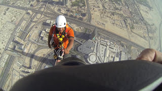 Joe McNally Photography- Climbing the Burj Khalifa (The World