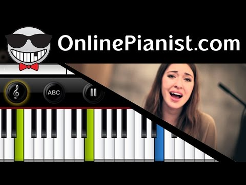 How to play Lauren Daigle - How Can It Be - Piano Tutorial & Sheets (Easy & Intermediate) CCM