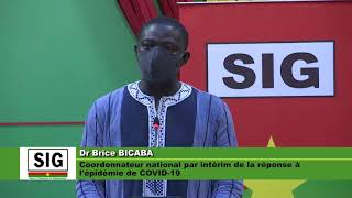 Point presse du gouvernement Covid-19 du 7 mai 2020 - Burkina Faso