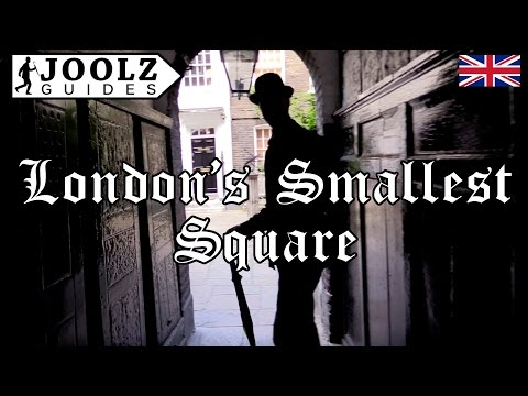 London's Smallest Square - TOP 50 THINGS TO DO IN LONDON - London Guides