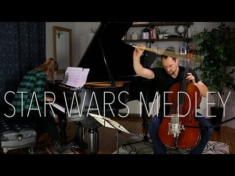 Star Wars Medley (Piano + Cello Cover) - Brooklyn Duo