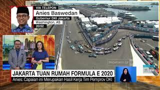 Anies Soal Jakarta Tuan Rumah Formula E 2020