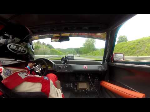 JDM ENGINE WORLD CR-X first race at Lime Rock Raceway Driver: 1 hand wonder May 26, 2014
