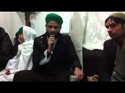 Mehfil e milad in ilford london by zaheer attari