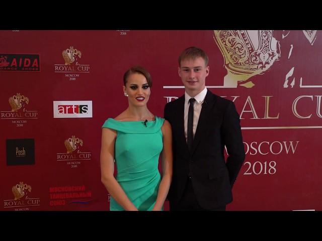Интервью пары Резник Игорь - Полищук Мария/Interview with Reznik Igor - Polishchuk Maria