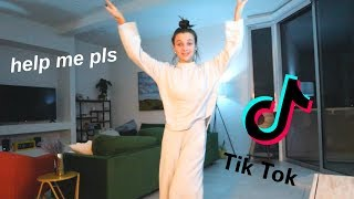 LEARNING TIK TOK DANCES AT 3AM