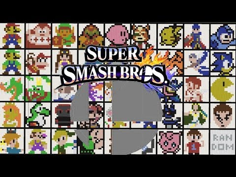 (CONCEPT) Mega Smash Bros - All Characters from YouTube · Duration:  1 minutes 56 seconds