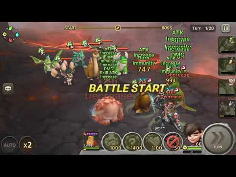 Stone Age Begins - Tyraflame Hunting Ground Stage 3 (Advanced)