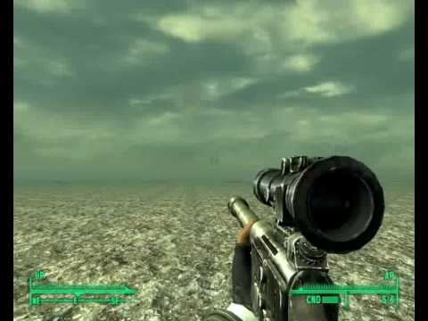 Getting out of the map limits in Fallout 3 near the Capitol wmv ...