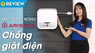 Máy nước nóng Ariston 15 lít: có cảm biến chống giật chống bỏng (AN2 RS) • Điện máy XANH