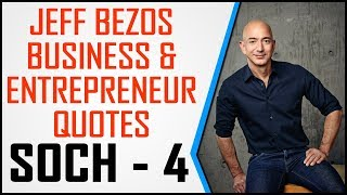 Soch - 4 || Jeff Bezos Business and Entrepreneur Quotes in Hindi By KitKTS