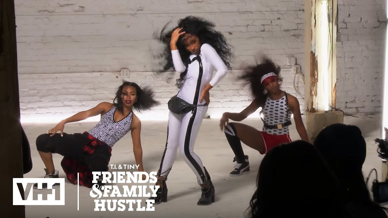Niq Niq Slays On the Set Of Her New Music Video | T.I. & Tiny: The Family Hustle