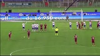 Roma vs Sampdoria 2015
