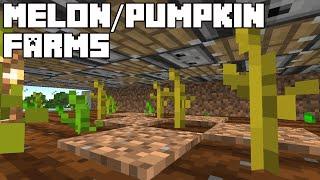 Automatic Pumpkin/Melon Farms - Mine¢raft 1.16/1.17 Tutorial (Java Edition)