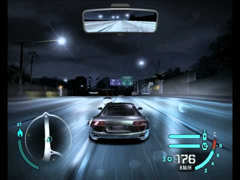 Audi R8 Le Mans Quattro Need for Speed Carbon HD Gameplay Test Drive