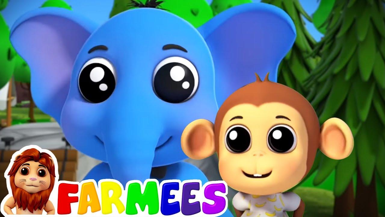 Vamos al zoológico   Videos educativos   Musica para bebes   Farmees Español   Canciones Infantiles