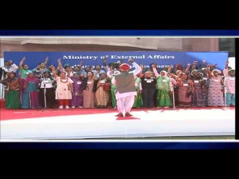 ITEC Solar Grandmothers participate in International Women's Day celebrations in New Delhi