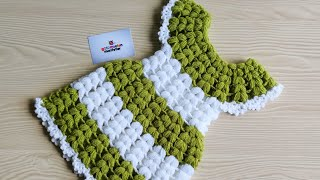 How To Crochet girl Dress Soap Potholders & Dish Soap Dress TUTORIAL