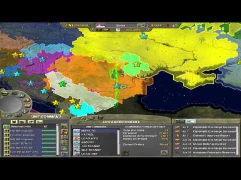 Supreme Ruler 2020 - Kingdom of Serbia - Part 6