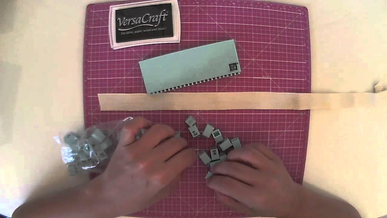 C mo hacer etiquetas para ropa con p de papel youtube for Ideas para disenar ropa