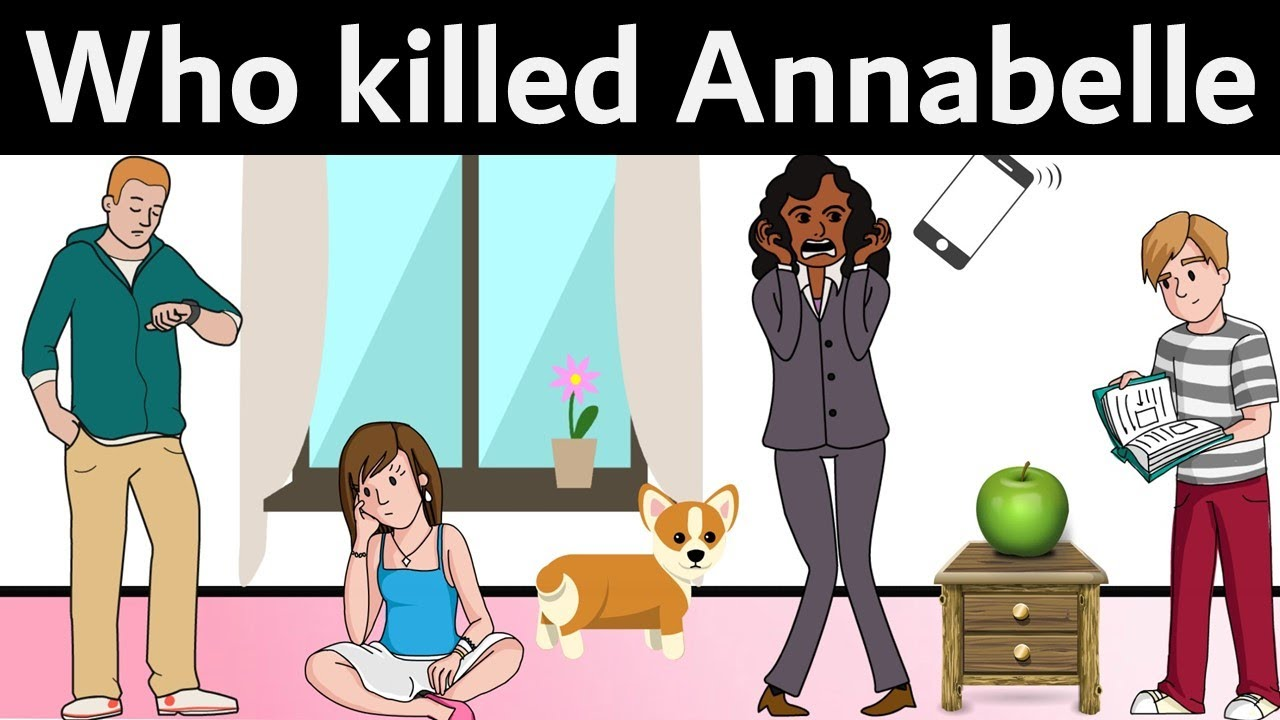 3 Riddles Popular on Mystery Murder   Who Killed Annabelle?   Can ...