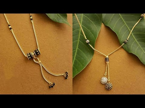 Latest Gold Mangalsutra Designs For Daily Wear 2019 Youtube