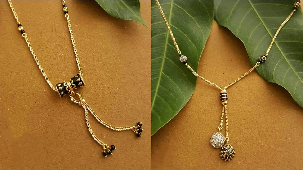 Latest Gold Mangalsutra Designs For Daily Wear 2019