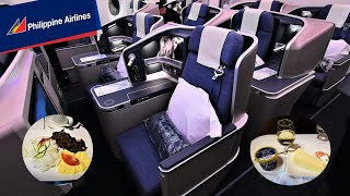 Philippine Airlines A350 Business Class Manila to New York JFK
