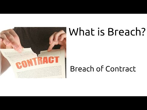 What is Breach | Breach of Contract | Indian Contract | CA CPT | CS & CMA Foundation