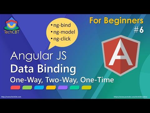 AngularJS: Understanding (one-way, Two-way, One-time) Data Binding