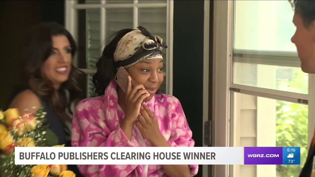 WGRZ Covers Publishers Clearing House $1 Million SuperPrize Winner